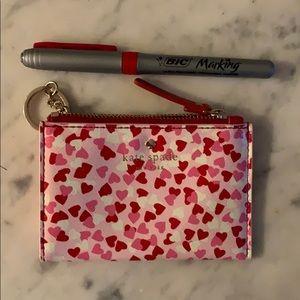 kate spade Accessories - NWOT Kate Spade Heart Coin Purse